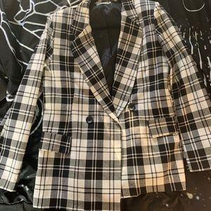 Jackets & Blazers - Patterned Blazer